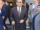 وزير الكهرباء يتفقد التجهيزات فى قاعة المؤتمرات الكبرى بشرم الشيخ