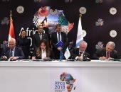 صور.. رئيس الوزراء يشهد مراسم توقيع اتفاقية تطوير منظومة الصرف بمصرف كيتشنر