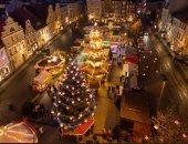 أسواق عيد الميلاد.. شاهد طريقة رائعة للتمتع بالكريسماس فى ألمانيا