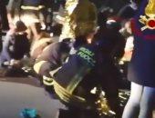 فيديو.. مقتل وإصابة أكثر من 120 شخصا فى ملهى ليلى بإيطاليا بسبب رذاذ فلفل