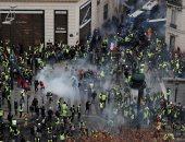 """الشرطة الفرنسية تعتقل 30 متظاهرا خلال احتجاجات """"السترات الصفراء"""""""