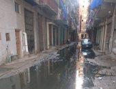 قارئ  يشكو من تهالك شبكة الصرف الصحى بمنطقة الفلكى بالاسكندرية