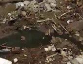 قارئ يشكو من غرق قرية قمبش ببنى سويف بمياه الصرف الصحى