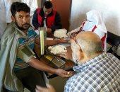 تسيير خدمات حملة 100 مليون صحة لقرى الشيخ زويد بسيناء