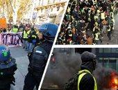 فوضى على الطرق فى فرنسا.. المتظاهرون يحرقون أكشاك دفع رسوم العبور
