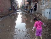 قارئ يشكو من غرق كفر الحمادية بالمنوفية فى مياه الأمطار