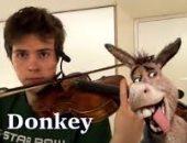 سبستيان كولونوفسكى.. بيعزف أصوات الحيوانات والألعاب بالكامنجا.. اسمع وشوف