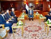 السيسى يلتقى رئيس البنك الآسيوي.. ويؤكد تطلع مصر لمزيد من التعاون