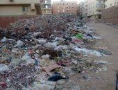 قلرئ يشكو من وجود مقالب قمامة وسط منطقة القومية السكنية بإمبابة