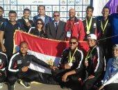 منتخب مصر يحصد 15 ميدالية باليوم الأول للبطولة العربية للكانوى بالأقصر