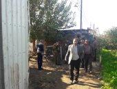 صور.. رئيس مدينة قويسنا يقود حملة تفتيش مكبرة على المصانع المخالفة