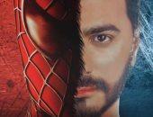 """شاهد بوستر فيلم تامر حسنى """"Spider man"""" فى النسخة الجديدة"""