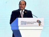 السيسي: إنشاء صندوق للاستثمار فى البنية التحتية المعلوماتية لتطوير إفريقيا