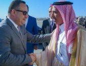 محافظ الإسكندرية يودع رئيس الهيئة العامة للسياحة والتراث الوطنى السعودى بالمطار