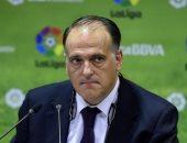 برشلونة يتضامن مع ريال مدريد ضد رئيس رابطة الليجا.. تعرف على السبب