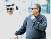 محمد عبده يصل للكويت وعبد الله الرويشد يستقبله.. اعرف التفاصيل