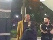 فيديو وصور.. نجوم الكرة الطائرة يقدمون واجب العزاء لـ عبد الله عبد السلام