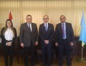 محافظ الإسكندرية يبحث سبل تعزيز العلاقات المصرية المكسيكية مع سفير المكسيك