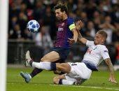 موعد مباراة برشلونة ضد توتنهام فى دورى أبطال أوروبا
