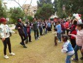 صور.. مهرجان ترفيهى للأطفال ذوى الاحتياجات الخاصة بمتحف الطفل