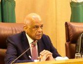 رئيسا البرلمانين العربى والمصرى يعقدان جلسة مباحثات بالجامعة العربية