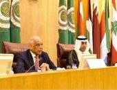 بدء الجلسة العامة للبرلمان العربى بحضور الدكتور على عبد العال