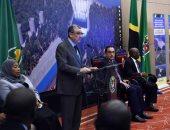 صور.. وزير الكهرباء من تنزانيا: سد روفيجى من أقدم السدود ويولد 2115 ميجاو وات