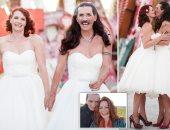 بريطانى يرتدى فستان فرح بزفافه.. والعروس: أراه غريبا فى الجواكيت الرجالى