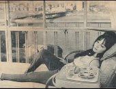 قصة صورة.. شادية فى شرفة منزلها تستمع لكوكب الشرق