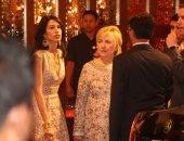 صور .. هيلارى كلينتون فى حفل زفاف ابنة الملياردير الهندى أمبانى