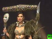 شاهد.. عرضاً مثيراً لأزياء مسابقة ملكة جمال الكون بتايلاند