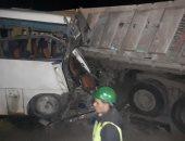 سائق نقل تسبب فى مصرع 3 مواطنين: سيارتهم اصطدمت بى من الخلف