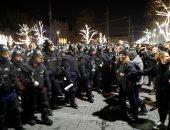 احتجاجات حاشدة بمحيط برلمان المجر ضد قانون العمل الجديد
