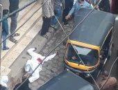 تجديد حبس رجل عذب زوجته بسبب شكه فى سلوكها فقفزت من الطابق الخامس بأكتوبر