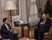 """شكرى يبحث مع مدير عام منظمة """"اليونيدو"""" أطر التعاون لتطوير الصناعة المصرية"""
