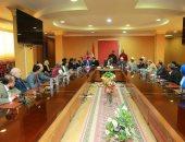 بيت العائلة المصرية بكفر الشيخ يبحث عدد من القضايا ويضم أعضاء جدد