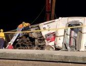 مصرع 4 أشخاص وإصابة 43 آخرين فى حادث اصطدام قطار بالعاصمة التركية