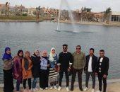 """حديقة زايد المركزية تستقبل الفوج العاشر من شباب الجامعات ضمن مبادرة """"كل يوم جديد"""""""