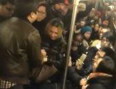 """خناقة سيدات فى مترو نيويورك تنتهى باستدعاء الشرطة """"فيديو وصور"""""""