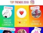 إنستجرام تكشف عن إحصائياتها.. Instagram Year in Review 2018