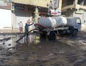 استجابة لصحافة المواطن.. مياه الجيزة: غطاء مكسور سبب طفح الصرف فى بشتيل