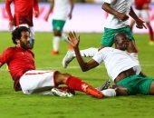 فيديو.. مروان محسن يتعرض لإصابة فى الأنف أمام جيما الإثيوبى