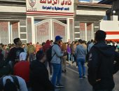 أحد مشجعى الزمالك الصغار: جئنا من كفر الشيخ لشراء التذاكر