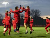جدية وتركيز فى تدريبات ليفربول استعدادا لمواجهة مانشستر يونايتد.. صور