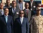 الرئيس السيسي يغادر الخانكة بعد افتتاح عدد من المشروعات التنموية