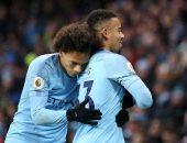 مانشستر سيتي يستعيد صدارة الدوري الإنجليزي مؤقتا بثلاثية ضد إيفرتون