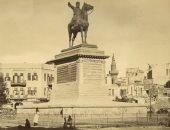 """معلومة × صورة.. قصة تمثال """"أبو اصبع"""" وحصانه الموجود فى ميدان الأوبرا"""