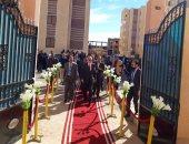 رئيس جهاز قنا الجديدة يفتتح الوحدة الصحية بمدينة قنا