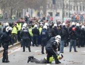 رئيس وزراء بلجيكا يطالب الأمن بتطويق المتظاهرين.. والشرطة تطلق قنابل الغاز
