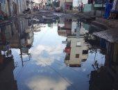 صور.. شكوى من اختلاط مياه الشرب بالصرف الصحى بقرية المندورة بكفر الشيخ